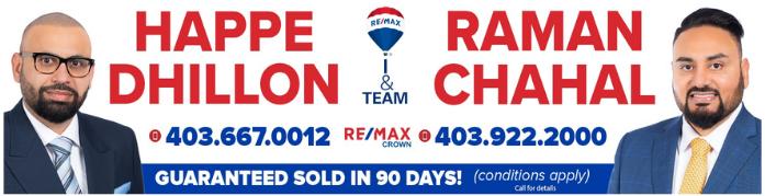 Dhillon-Chahal.com  Calgary Real Estate Team